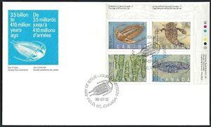 Canada  # 1279-1982 URpb    PREHISTORIC LIFE    Brand New 1990 Unaddressed Cover