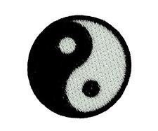 Patch ying yang embroidered iron on backpack karate tai chi martial arts
