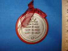 Punched Tin Tree Ornament 16272 137