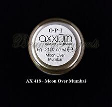 OPI Axxium Soak Off Gel Nail Lacquer Moon Over Mumbai AX418 .21oz NEW!