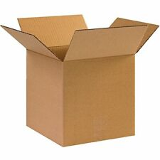 10 x 10 x 10 - 25 Pack Packaging Cardboard Shipping Corrugated Boxes For Mailing