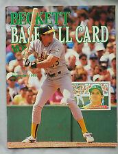 November 1988 Beckett Baseball Monthly Jose Canseco Oakland A's