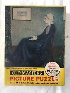 Vintage Tuco Puzzle Old Masters Series. Whistler's Mother.