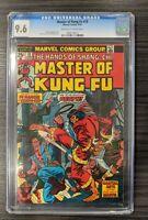 MASTER OF KUNG FU #18, CGC 9.6 NM+