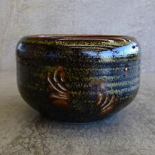 Vintage Bev Harris Thrumster Village Pottery Bowl Port Macquarie Australia Dish