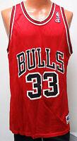 vtg SCOTTIE PIPPEN #33 Chicago BULLS Champion Jersey size 48 nba 90s red Men XL