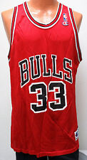 vtg SCOTTIE PIPPEN #33 Chicago BULLS Champion Jersey size 48 nba 90s red Men XL