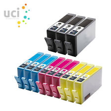 12x 364 XL Compatible CHIPPED Ink for Photosmart 5510 5515 5520 5524 6510 C6380
