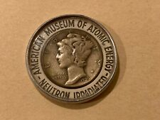 1939 Neutron Irradiated American Museum Of Atomic Energy Encased Mercury Dime