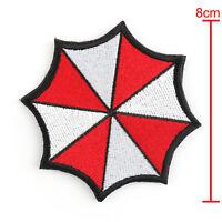 Resident Evil Gestickt Abzeichen Patches Umbrella Corporation Hook Loop Patch A3