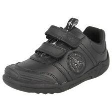 Chaussures habillées noirs en cuir pour garçon de 2 à 16 ans