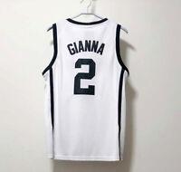 Gianna Bryant #2 Basketball Jerseys White Black Huskies Stitched Jerseys