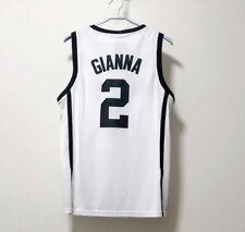 Gianna #2 Basketball Jerseys White Black Huskies Stitched Jerseys Youth/Adult