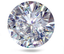 2 ct Brilliant Round Vintage Top Russian Quality Cubic Zirconia 8 mm