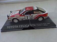 Coches, camiones y furgonetas de automodelismo y aeromodelismo Celica Toyota escala 1:43