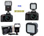 Speedlight Flash  36 LIGHT LED for Nikon D7100 D7000 D5100 D3200 D3100 D3400