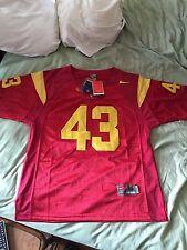 Men's Large Troy Polamalu Vintage Throwback USC Trojans NCAA Football Jersey
