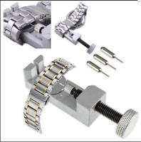Metal Adjust Watch Band Strap Bracelet Link Pin Remover Repair DIY Tool Kit