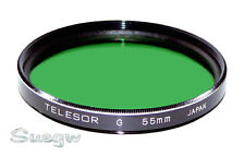 55mm Telesor Green X1 Lens Filter