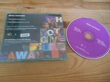 CD Pop Bruce Cockburn - When You Give It Away (2 Song) Promo / RYKODISC jc