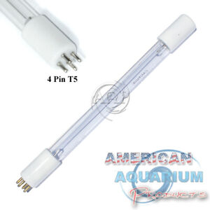 GPH212T5L/4P, 4 pin 10 Watt UV bulb for air/water purifiers. Fits BioZone, more