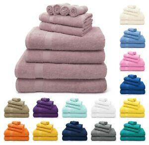 100% Egyptian Cotton Super Soft Towels 600gsm Combed Towel Hand Bath Sheet