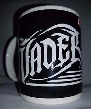 NEW-ZAK VADER Star Wars coffee mug cup tea STONEWARE Black White Darth collector