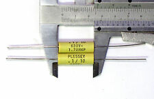 4 Plessey 0,1uF 630V MKP capacitor (Arcotronics) 1.70 axial polypropylene 100nF