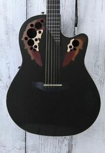 Ovation Adamas USA Model W597 Acoustic Electric Guitar with Hardshell Case
