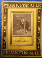 Musik für alle Nr.7 Erstes Carmen Heft Verlag Ullstein Berlin H8211