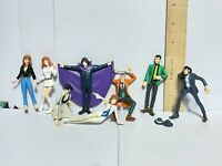 Lupin the 3rd Third Japan Anime Figure Lot of 8 Fujiko & Others