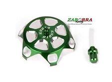 Tappo serbatoio benzina Kawasaki ERGAL Verde KX 2T Diametro 50mm ALLUMINIO VERDE