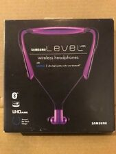 Samsung Level U Pro Stereo Bluetooth In-Ear Headphones w/ Mic UHQ Audio  PURPLE