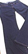GAP 1969 29 8 A Curvy Jeans PANTS Stretch COTTON  BLUE DENIM FLARED Boot Cut