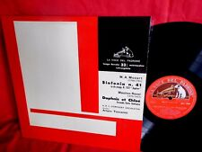 TOSCANINI Mozart Ravel LP 1954 ITALY VOCE DEL PADRONE