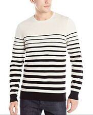 AG ADRIANO GOLDSCHMIED Men's Black Tanner Crew Neck Sweater Small