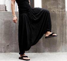 Harem Pants Trousers Alibaba Gypsy Hippie Aladdin Baggy Genie Men Women Hmongss