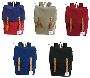 100% authentic! Anello AT-C1351 Cotton Canvas Backpack Rucksack 6 Color Japan