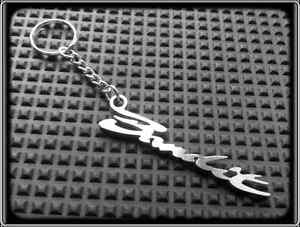 Keyring for SUZUKI GSF BANDIT - Stanless Steel, Hand Made, Chain Loop Key Fob