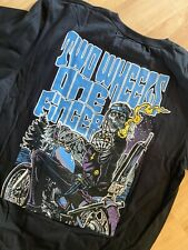 Kustom Kulture/Chopper T-Shirt in L - Front/Backdruck