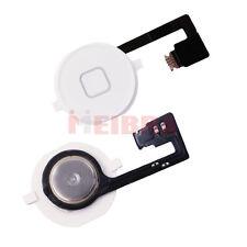 Home Button geeignet für iPhone 4S mit Flex Kabel Weiss Weiß Knopf Taste