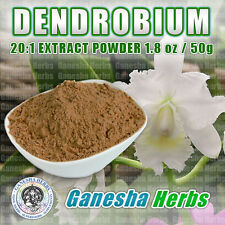 100% PURE  DENDROBIUM concentrated 20:1 EXTRACT POWDER 1.8 oz / 50 grams
