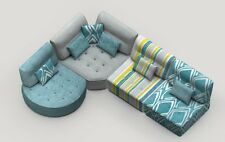 Kristin Sectional Sofa Modular Contemporary Modern Lifetime Warranty Spain