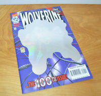 Vintage MARVEL WOLVERINE ISSUE 100 Hologram Cover Comic Book 1996 Key VF/NM