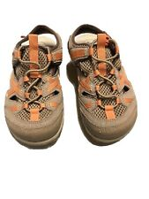 Merrell Waterpro Skip Otter Burnt Orange Sports Youths Sandals Size 10 Us