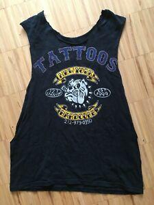 "NEW YORK HARDCORE TATTOOS Shirt ""M"" (NYHC, Agnostic Front, Stigma, Madball)"