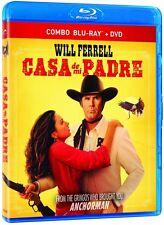 Casa de mi Padre (Blu-ray + DVD) Will Ferrell NEW