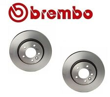 Land Rover LR3 4.0L V6 Pair Set of Front Left and Right Disc Brake Rotors Brembo