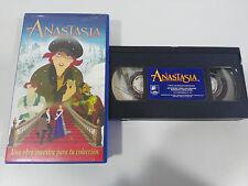 ANASTASIA - VHS CINTA TAPE LOS CLASICOS DE WALT DISNEY 20 CENTURY FOX