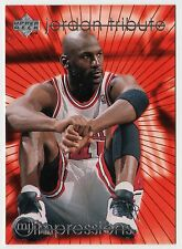 Michael Jordan 1997 UD TRIBUTE IMPRESSIONS EYE POPPING Average 35ppg Card #MJ37